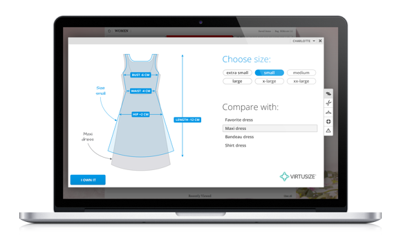 virtusize-compare-view-dress
