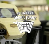 Hellmann's Recipe cart
